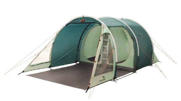 Easy Camp GALAXY 400 Green Camping Tent, Outdoor Camping Equipment - Grasshopper Leisure